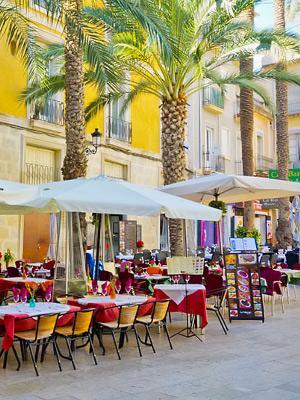 Alicanten Kaupunginosia Alueita Ja Niiden Nahtavyyksia
