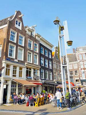 Amsterdamin Kaupunginosia Alueita Ja Niiden Nahtavyyksia
