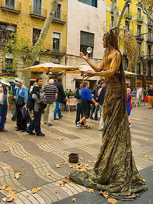 Barcelonan Kaupunginosia Alueita Ja Niiden Nahtavyyksia
