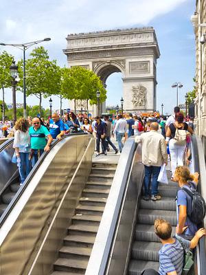 Liikkuminen Pariisissa Metrolla Bussilla Taksilla Polkupyoralla