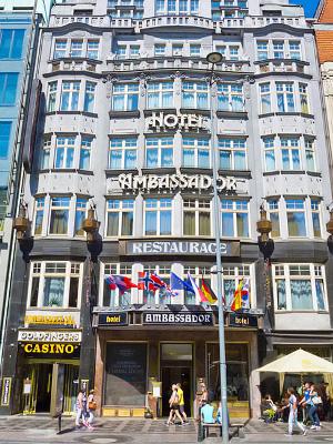 Hyvia Hotelleja Ja Alueita Yopymiseen Praha