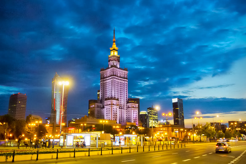 Varsova Pieni Matkaopas