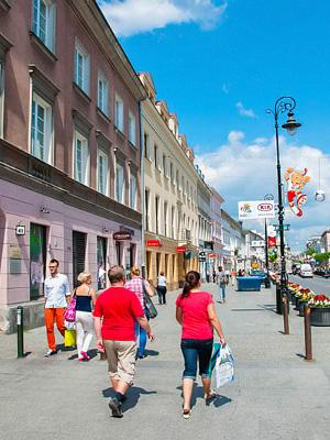 Varsovan Kaupunginosia Alueita Ja Niiden Nahtavyyksia